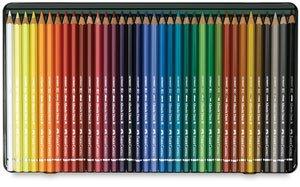 Faber-Castel FC117536 Albrecht Durer Artist Watercolor Pencils in A Metal Tin (36 Pack), -