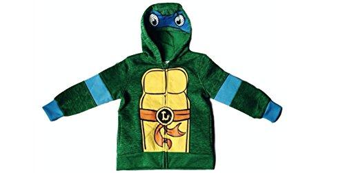 Nickelodeon Boys' Teenage Mutant Ninja Turtles Leonardo Hoodie (6) (Leonardo Kids Costumes Hoodie)