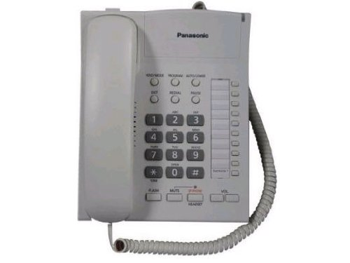 Panasonic Consumer Single Line Speakerphone in White KX-TS840W, Office Central