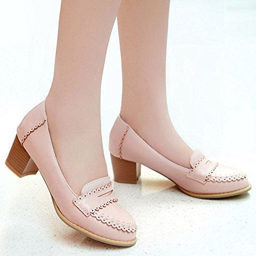 Brogue Pink Femmes Doux Melady Chaussures 6wvqOxE