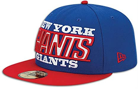 0b51e09a New York Giants New Era 5950 ZOOM Fitted Size 7 1/2 Hat Cap NFL Authentic &  NEW Eli Manning