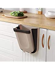 Wellgoods Collapsible Kitchen Office Garbage Trash Can Foldable Hanging Car Garbage Can