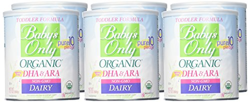 Organic formula for breastfed baby