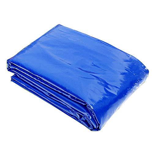 誓約猫背文句を言う日保護防水防水防水ナイフ掻爬トラックタンポリン屋外庭プラント防風日焼け止め布300g /平方メートル(20サイズご利用いただけます) (色 : 青, サイズ さいず : 7 * 8m)