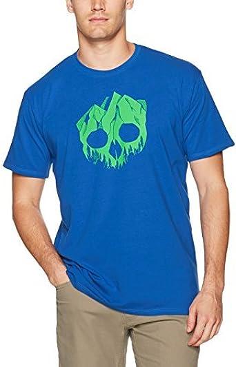 Charko Designs Mountskull Rock - Camisas para Hombre, Color ...