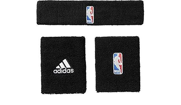 Muñequeras y diadema de la marca Adidas NBA: Amazon.es: Deportes y ...