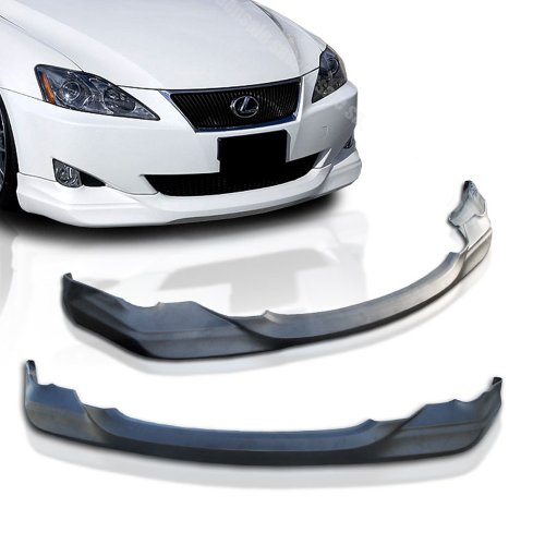 NEW - 06 07 08 Aftermarket Made LEXUS IS250 IS350 DUB ING Front PU Bumper Add on Lip