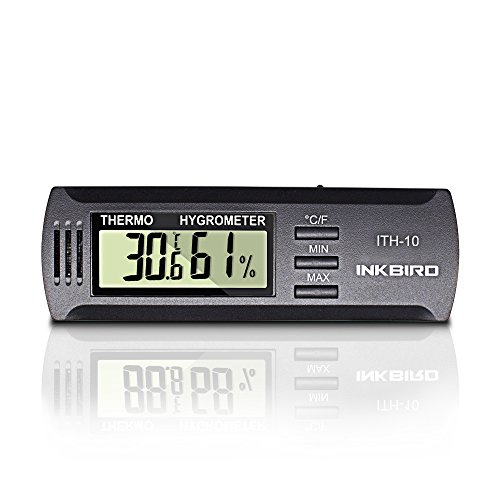 Inkbird Dc 3V Input Digital Thermometer & Humidity Meter Hygrometer ITH-10 by Inkbird (Image #1)