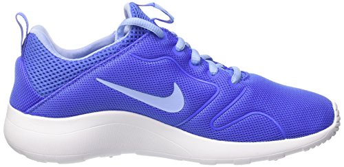 Bleu Aluminum 0 Femme Medium Baskets Blue Mode Blanc Nike Kaishi 2 qvZw104
