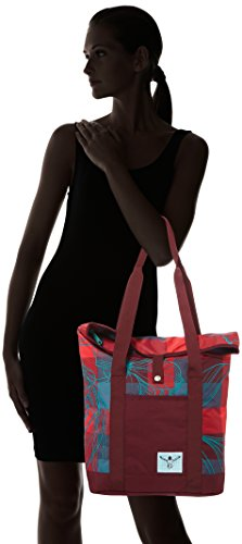 Chiemsee Backpack Shopper - Mochila Mujer Mehrfarbig (Checks Floral)