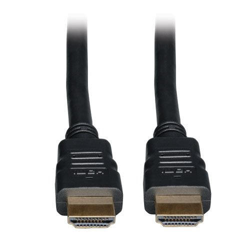 Tripp Lite High Speed HDMI Cable with Ethernet, Ultra HD 4K x 2K, Digital Video with Audio, In-Wall CL2-Rated (M/M), 10-ft. (P569-010-CL2) by Tripp Lite