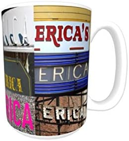 Cup featuring the name in photos of actual sign letters CELESTE Coffee Mug