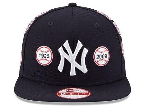 5116da39b66 New Era New York Yankees Snapback Adjustable One Size Fits All World Series  Baseball Logos OSFA Navy Blue Hat Snap Back Cap - 20th Anniversary Spike Lee  ...