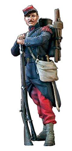 アンドレアミニチュア SG-F114 フランス軍兵士( 1870年 )