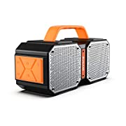 #AmazonGiveaways Bluetooth Speakers, Waterproof Outdoor Speakers Bluetooth 5.0?40W Wireless Stereo Pairing Booming Bass Speaker,2400 Minutes Playtime with 8000mAh Power Bank, Durable for Home Party,Camping(Black)