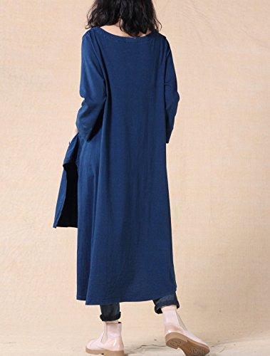 Vogstyle - Camisas - para mujer Long Top