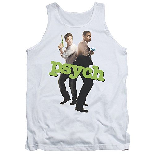 Psych NBC TV Series Hands Up Adult Tank Top Shirt