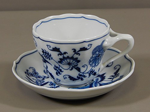 Reduced! Blue Danube China BLUE ONION O/SCup & Saucer Set(s)Banner Mark Mult (Blue Danube Blue Onion)