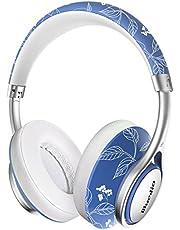 Bluedio T5S Auriculares Bluetooth inalámbricos On-Ear, Inteligente estéreo portátiles, con micrófono para teléfonos y música