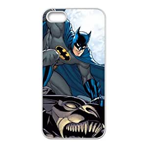 iPhone 4 4s Cell Phone Case White Batman Watches Over the City JNR2149882