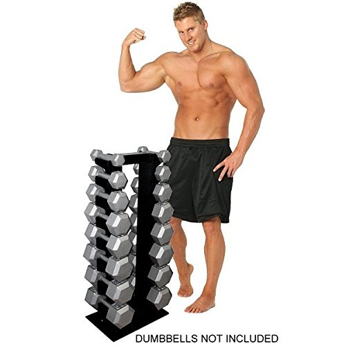 Deltech Fitness 8 Pair Vertical Dumbbell Rack by Deltech Fitness