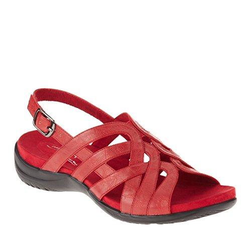 Easy Street Visage Stretta Pelle Sandalo