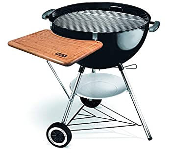 Weber Bbq Side Table.Weber 7411 Wood Working Table Side Kick Amazon Co Uk