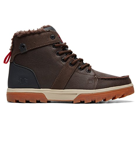 DC Shoes Woodland M, Stivaletti a Gamba Corta MOD. Classics, Senza Imbottitura Uomo Marron - Brown/Green/Black