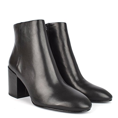 Mujer Footwear Tacón Ash De Con Cuero Botas Negro Eden T7aFnF4xRw