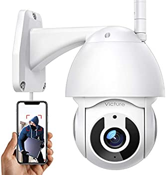 Victure 1080P WiFi Home Security Camera with Pan/Tilt