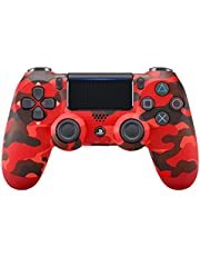 Sony PS4 Dualshock 4 Controller, Red Camouflage (Official Version)