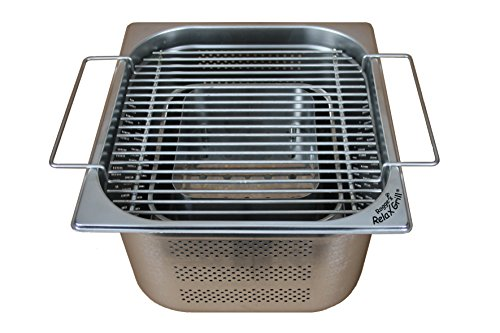 Rogge's RelaxGrill - built-in grill made of stainless ste...