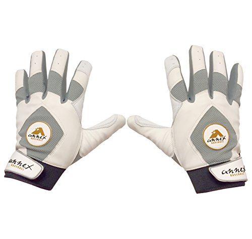 Annex RBI Series Youth Batting Gloves (Youth Large) (Wood Baseball Youth Series Bat)