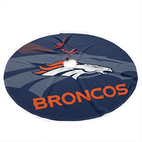 (Aoskin Denver Broncos Custom Christmas Tree Skirt)