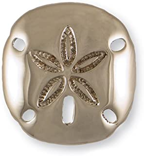 Sand Dollar Door Knocker   Nickel Silver (Premium Size)