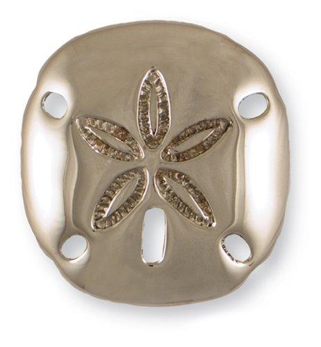 Sand Dollar Door Knocker - Nickel Silver (Premium Size)