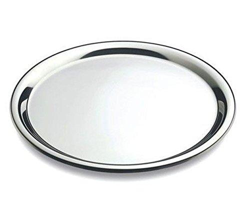 DEL - Tablett Rund - Serviertablett - Edelstahl - Ø 40 cm