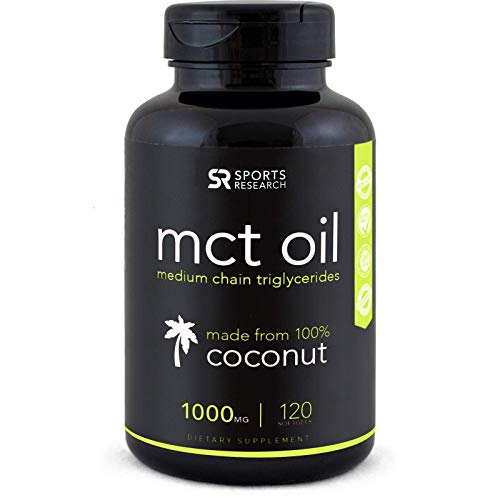 Keto MCT Oil Capsules ~ Keto Fuel for the Brain & Body ~ Derived from NON-GMO Coconuts (240 Softgels)