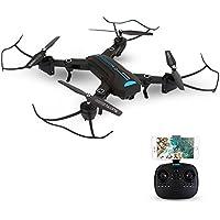 Festnight Foldable 2.0MP Camera Wifi FPV Drone 6-Axis Gyro Altitude Hold Headless Mode G-sensor RC Quadcopter