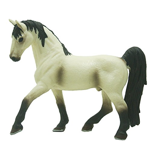 QTFHR-PVC Tennessee-Model horse-Classic toy white image horse Furnishing articles animal
