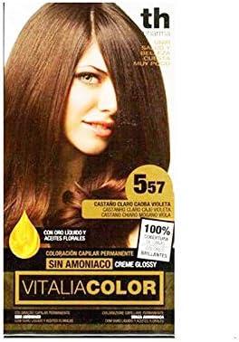 Th Pharma Th Vitalia Color Tinte Nº 557 Castaño Claro Caoba ...