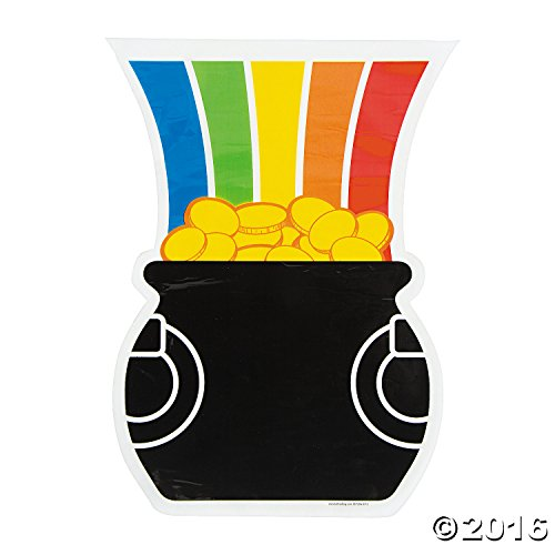 Rainbow Pot Of Gold (Pot of Gold at the end of the Rainbow Cellophane Bags - 12 ct)