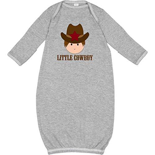 inktastic - Little Cowboy Boys Newborn Layette Heather 4876