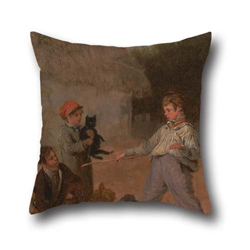 the-oil-painting-edmund-bristow-the-rat-trap-pillowcase-of-16-x-16-inch-40-by-40-cm-decorationgift-f