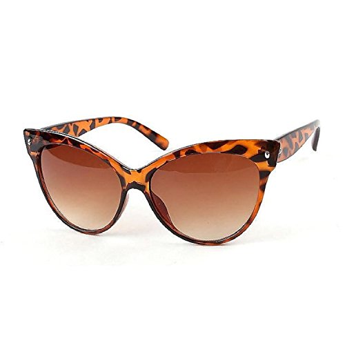 Loveje Casual Sunglasses Hot Women Fashion Sunglasses Eyewear Vintage Style (Leopard)