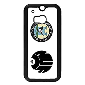 Htc One M8 Case Newcastle United Football Club Kawaii Logo Pattern Back Cellphone Protector Case