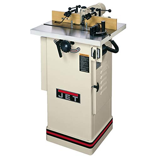 JET 708320 JWS-22CS 1/2-Inch and 3/4-Inch Interchangeable Spindle 1-1/2-Horsepower Shaper, 115/230-Volt 1-Phase