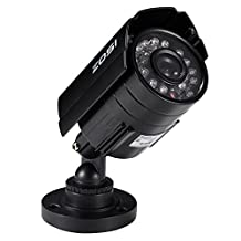 ZOSI HD 800TVL 24 IR-LEDs CCTV Camera Home Security Day/Night Waterproof Camera ¡