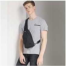 TINYAT Sling Bag Pack, Chest Shoulder Crossbody Hiking Backpack Sport Bicycle Rucksack School Daypack for Men Women T609