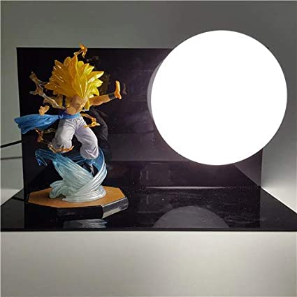 Lights & Lighting Dragon Ball Raditz Diy Led Lighting Lamp Super Saiyan Raditz Kamehameha Led Lamp 150mm Anime Dragon Ball Action Figures Toy Dbz
